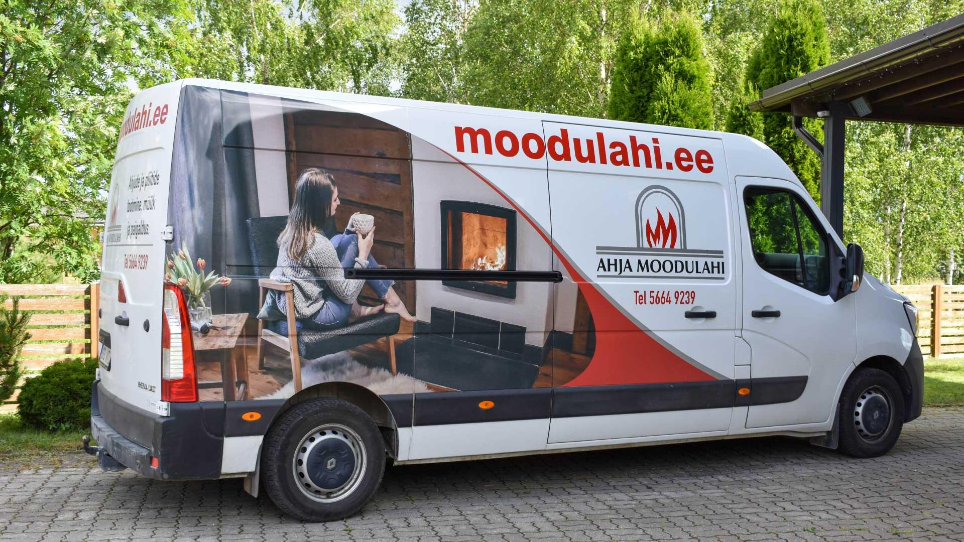 Ahja Moodulahju buss