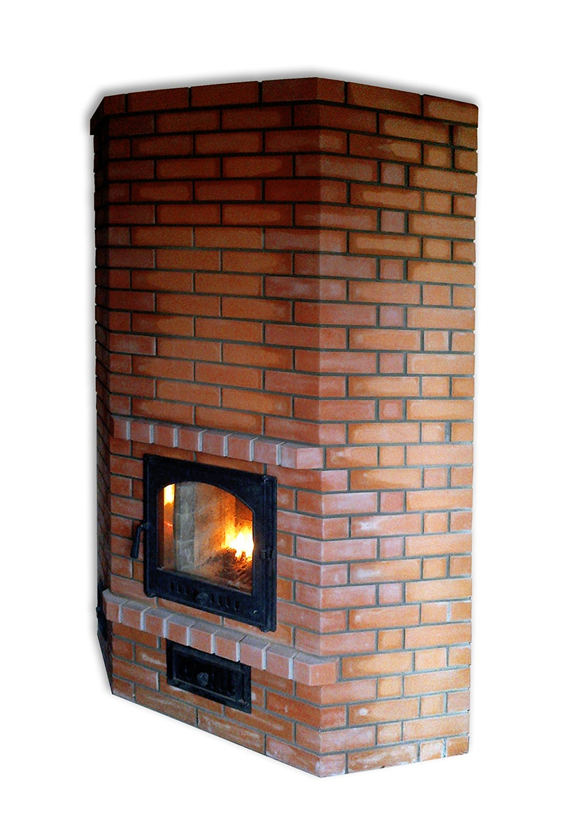 Brick-lined oven